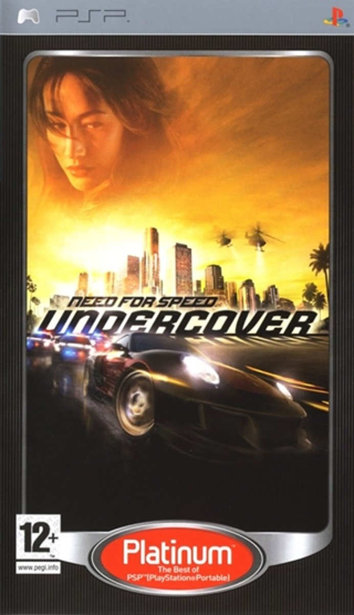 Need for Speed Undercover (platinum)