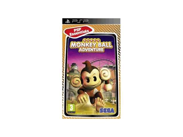 Super Monkey Ball Adventure Essentials
