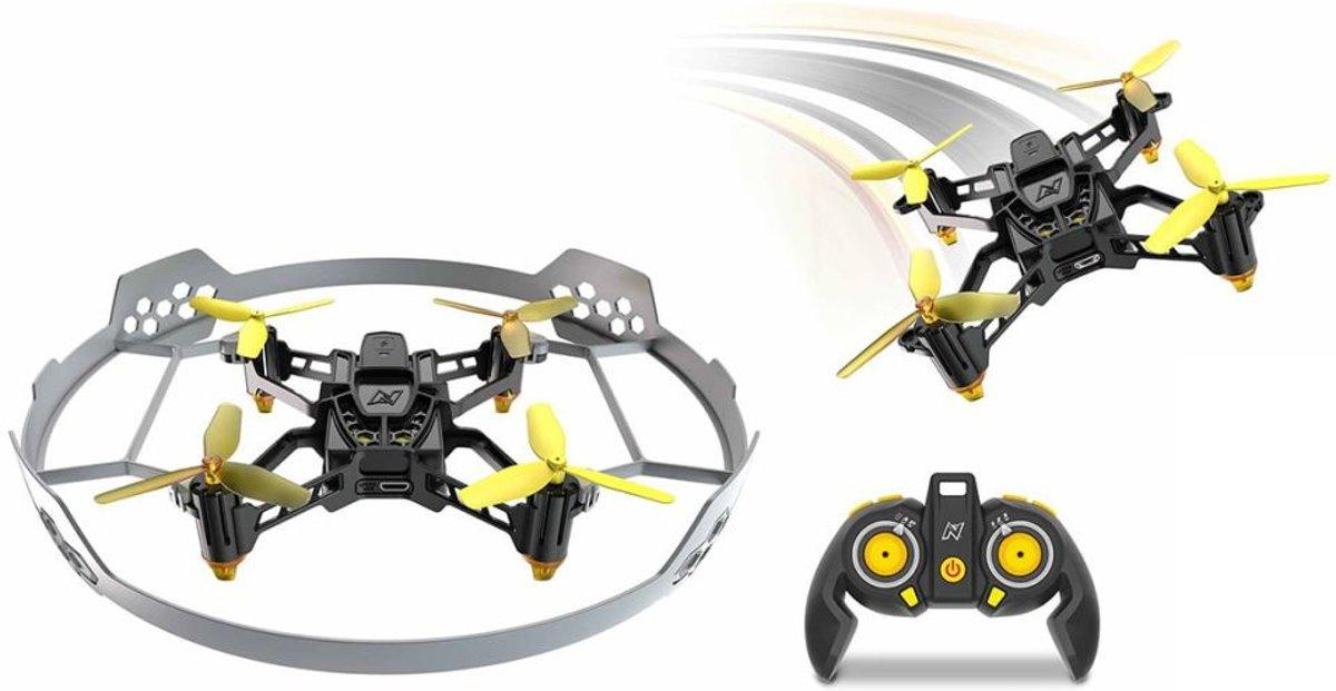 Nikko Drone Air Elite Stunt 115 Zwart/geel 19 Cm