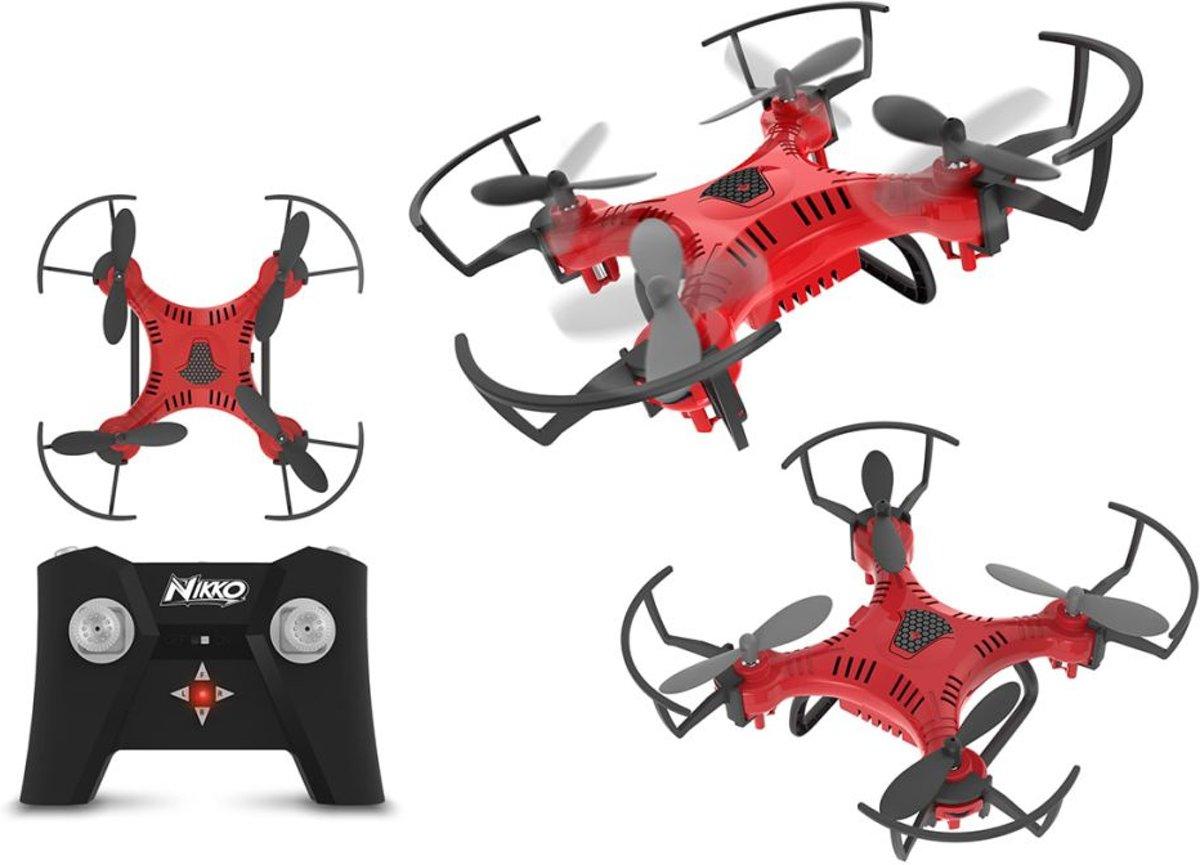 Toystate Nikko Air Nano Drone 89 X 324 Mm Rood/zwart