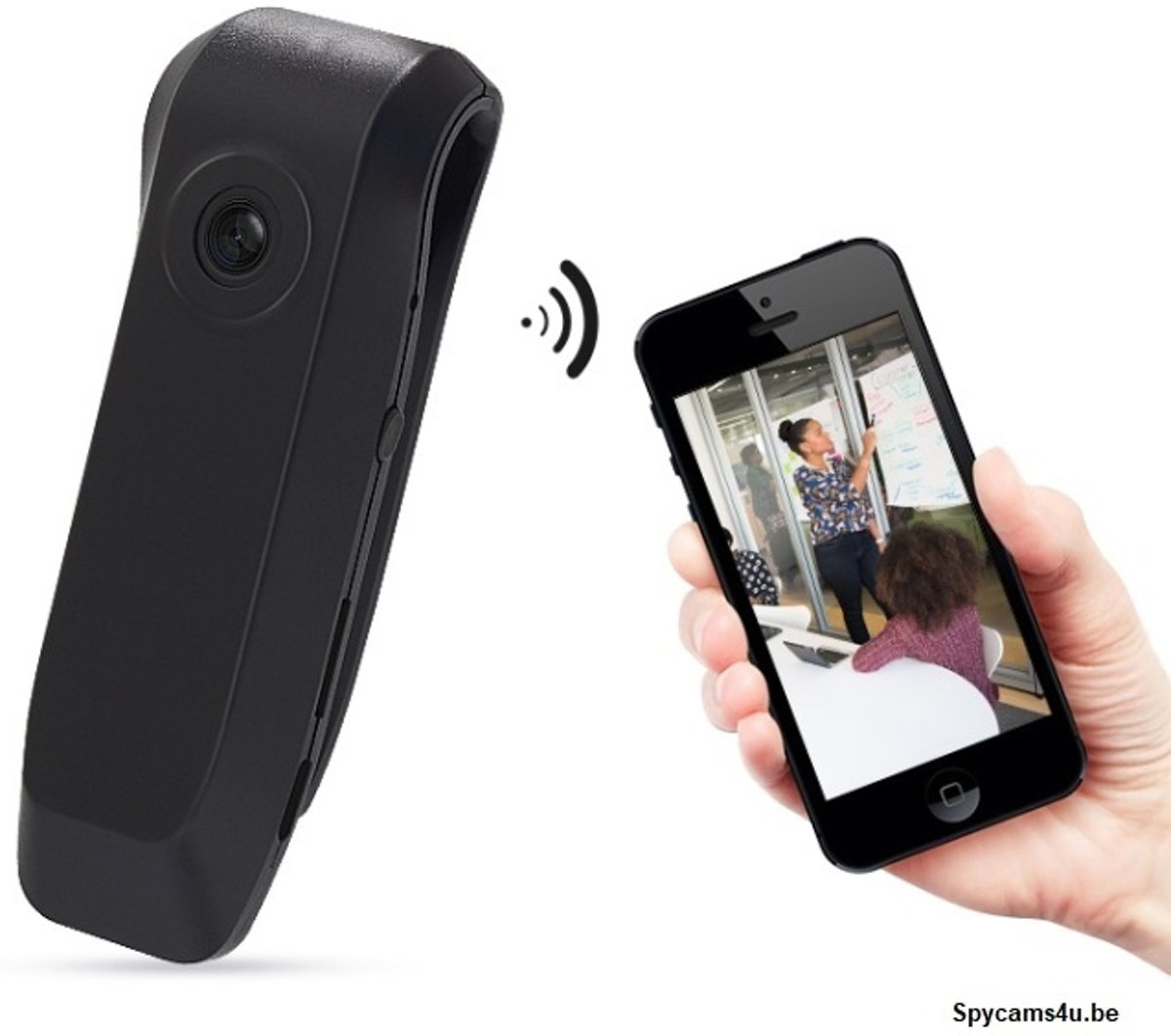 Knoop camera - meeting camera - verborgen camera - spy camera