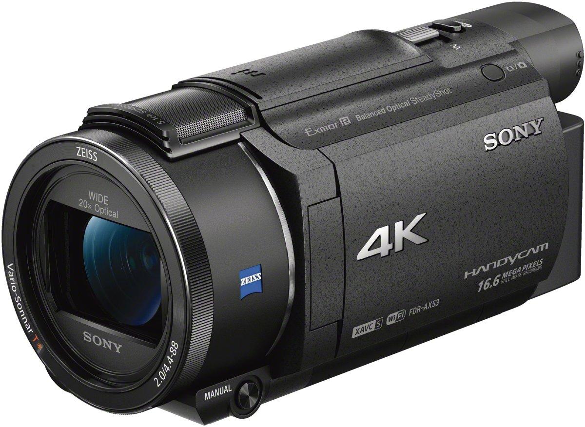 Sony camcorder FDR-AX53B 4K