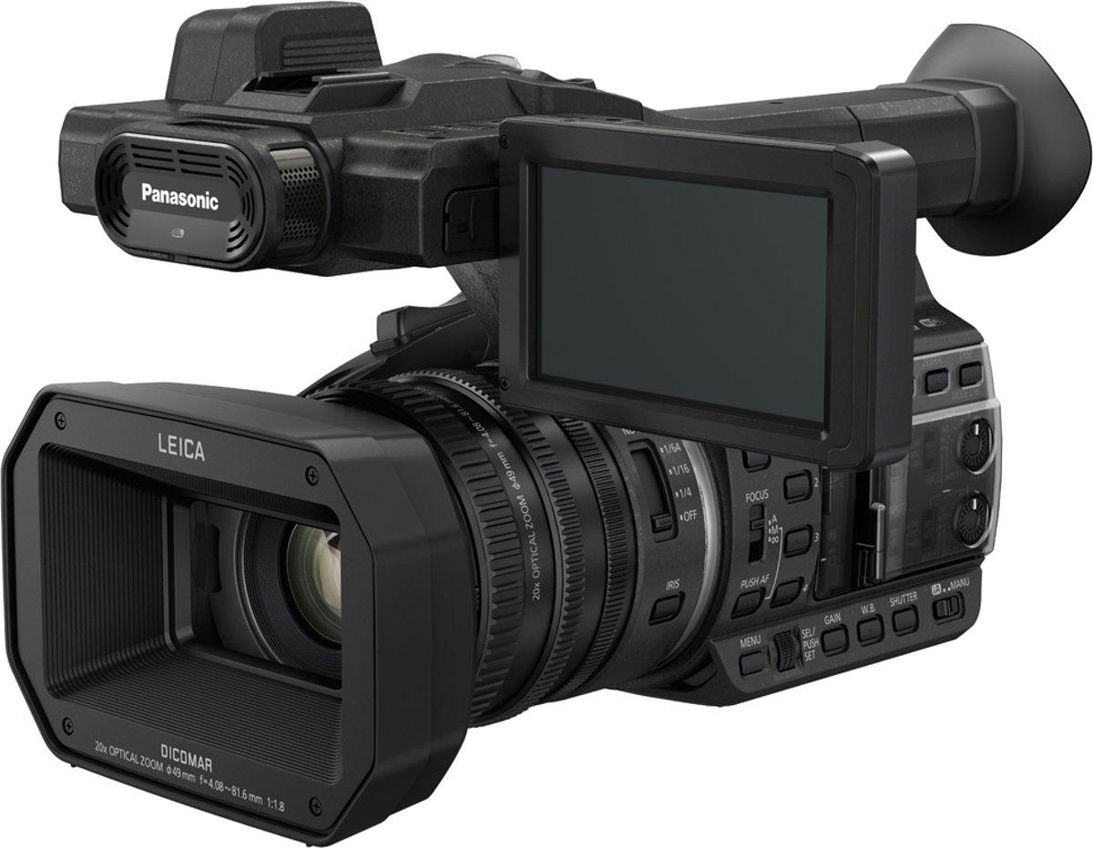 Panasonic HC-X1E - 4K Handcamcorder - Zwart