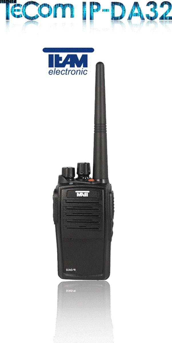 Team Tecom IP-DA32 analoge-digitale PMR446 portofoon