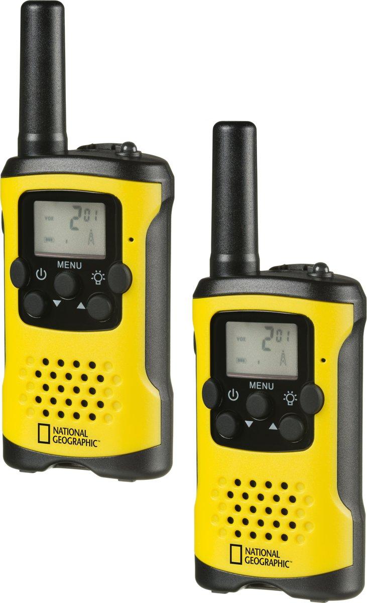 National Geographic FM Walkie Talkie 2-delige set tot 6km bereik
