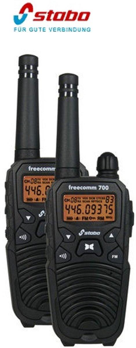 Stabo freecomm 700 20700 PMR-portofoon Set van 2