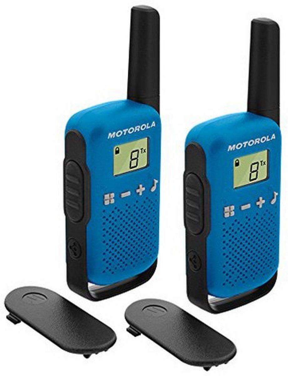 Motorola TALKABOUT T42 blau PMR-portofoon Set van 2