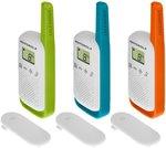 Motorola TALKABOUT T42 Triple PMR-portofoon Set van 3
