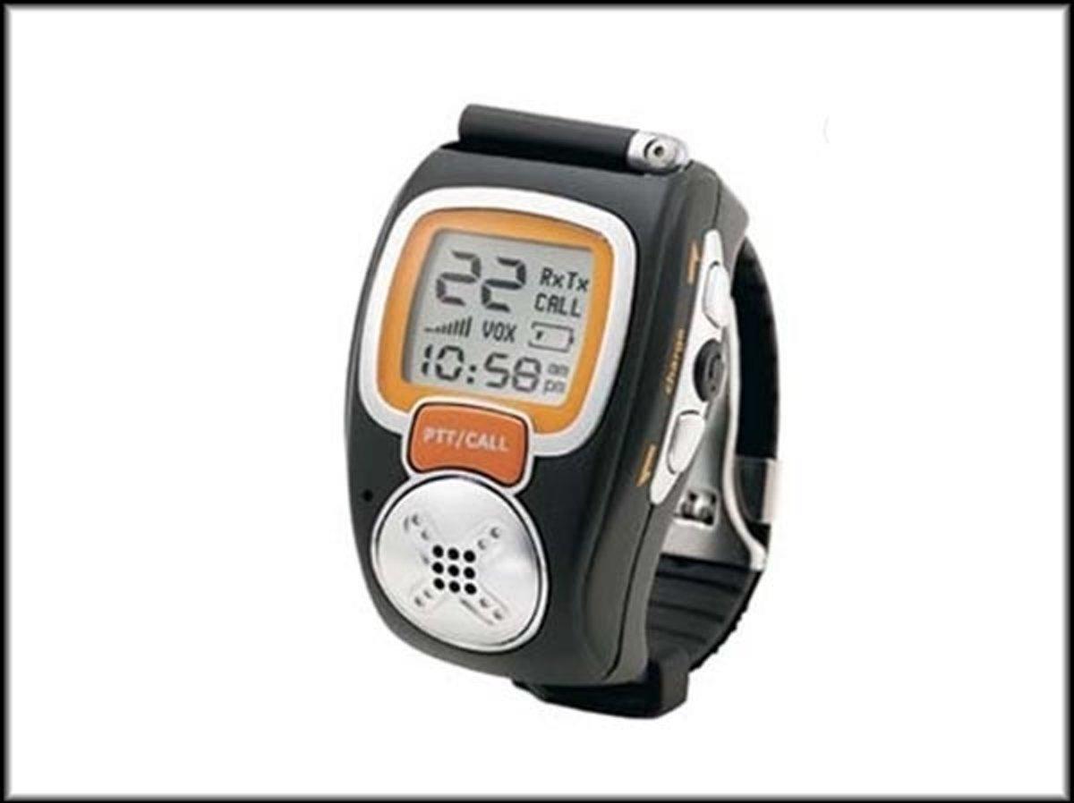PMR Portofoon - Walkie Talkie Wrist Watch set in zwart