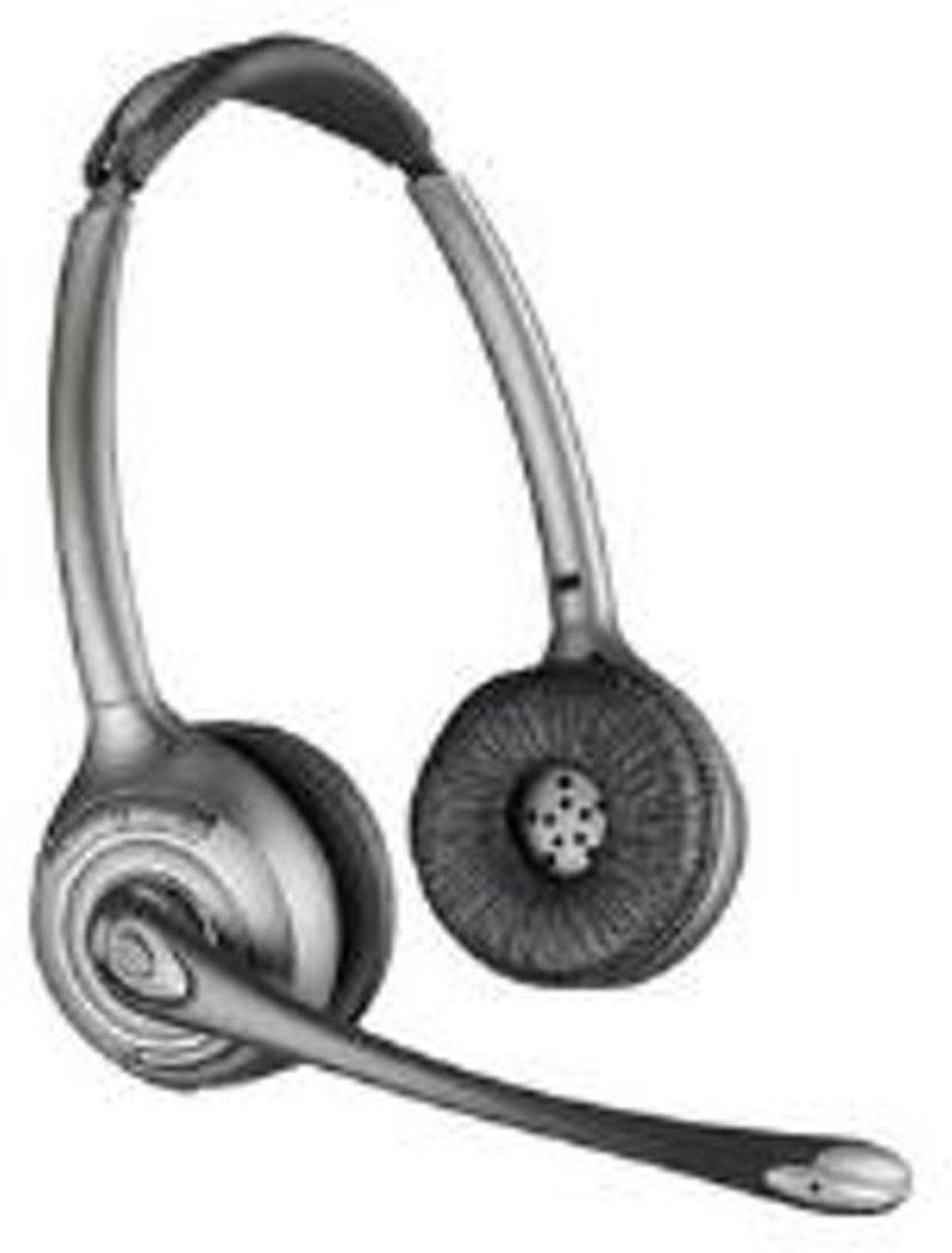 Telefoonheadset2.5 mm jackplugSpeciale penindeling Kabelgebonden, MonoRenkforceOn EarZwart