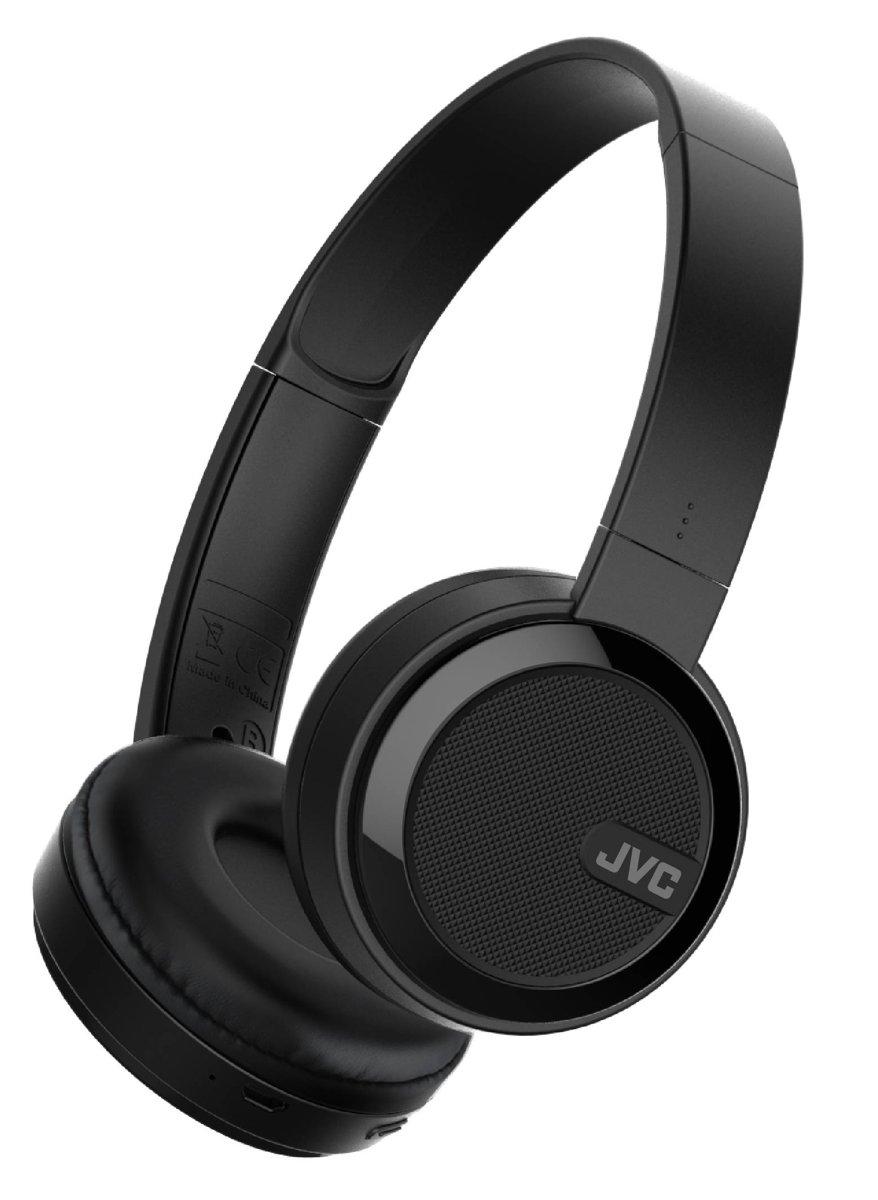HA-S40BT JVC On-Ear Bluetooth Stereo Headset Black