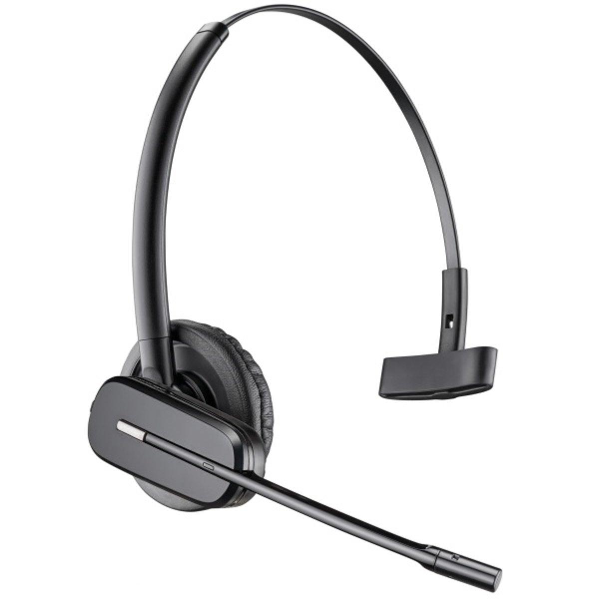 Plantronics CS540 Telefoonheadset DECT Draadloos, Mono In Ear Zwart