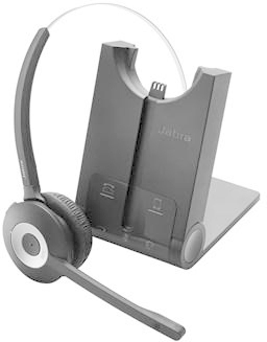 Jabra Pro 925 Telefoonheadset Bluetooth Draadloos, Mono On Ear Zwart, Zilver