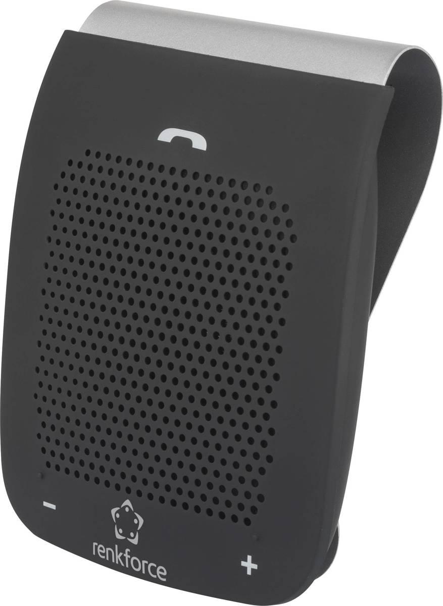 Bluetooth handsfreekit Renkforce RF-BTFE-2000 Gesprekstijd (max.): 16 h