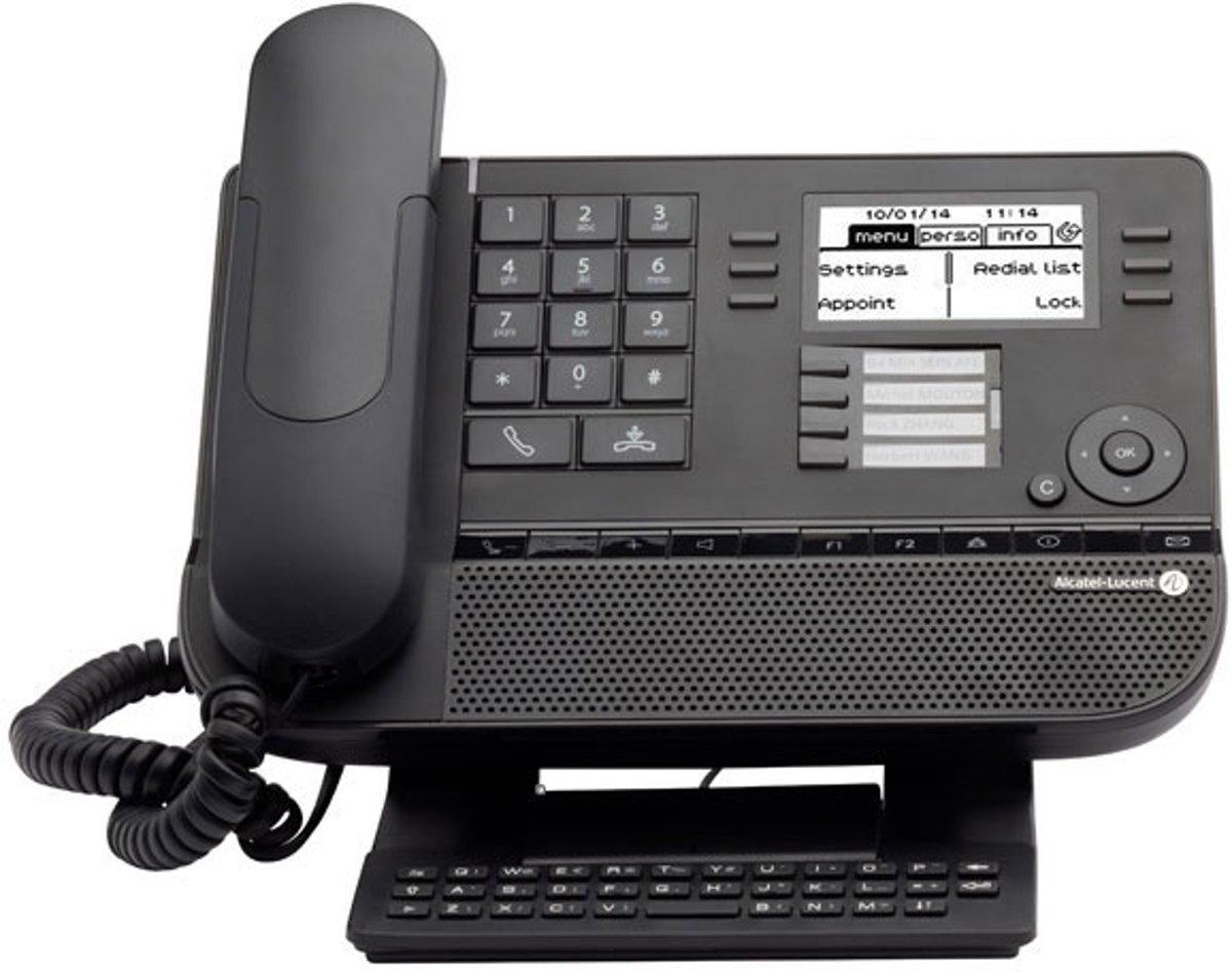 Alcatel Lucent 8028 - VoIP telefoon - Zwart