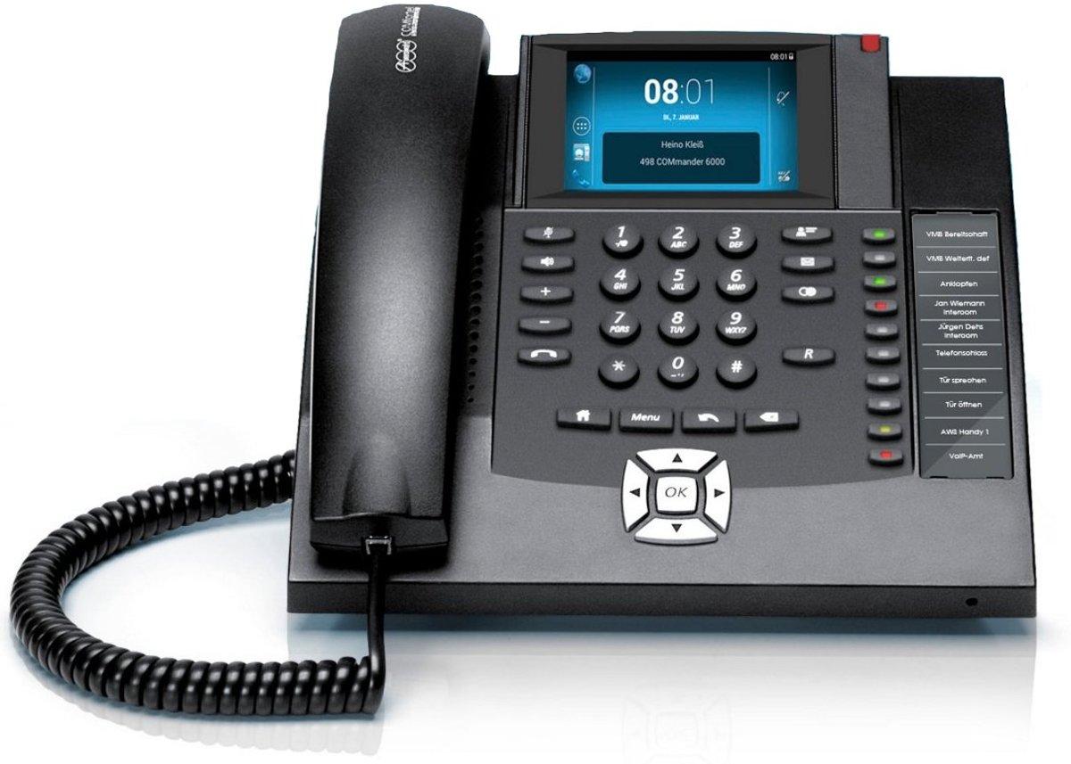 Auerswald COMfortel 1400 IP - VoIP telefoon - Zwart