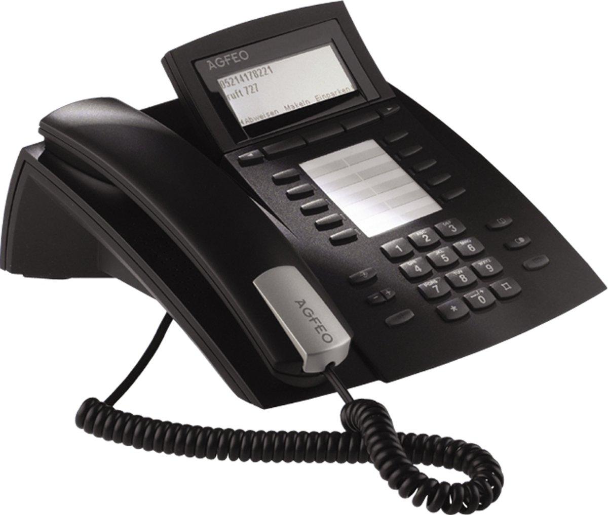 AGFEO ST42 IP - VoIP telefoon - Zwart