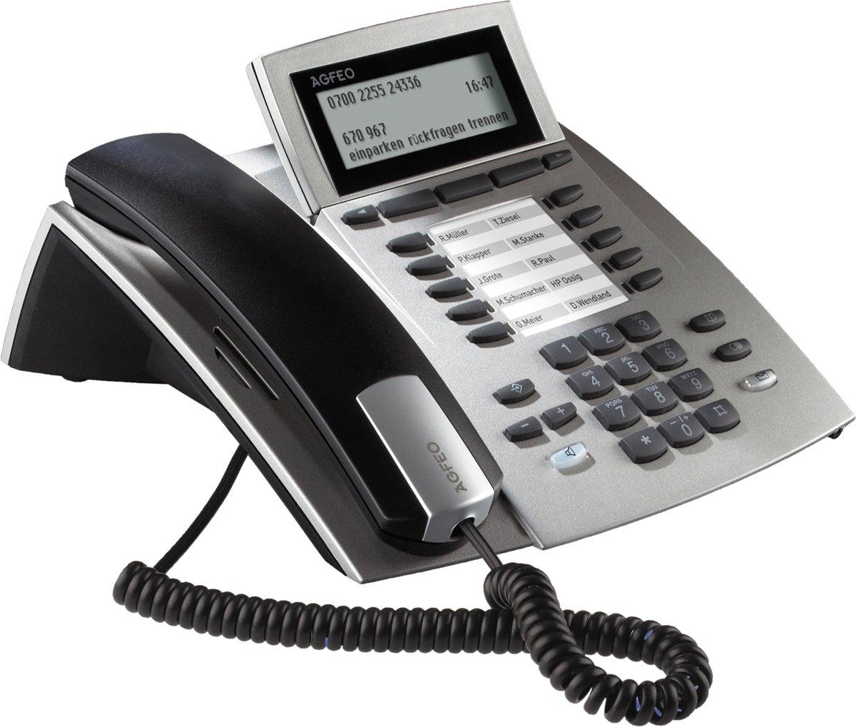 AGFEO ST42 IP - VoIP telefoon - Zilver