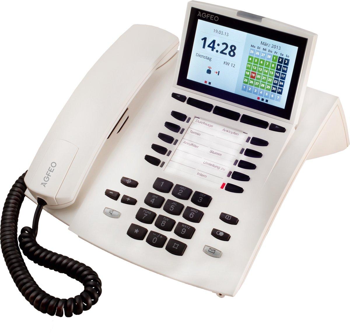 AGFEO ST45 IP - VoIP telefoon - Wit
