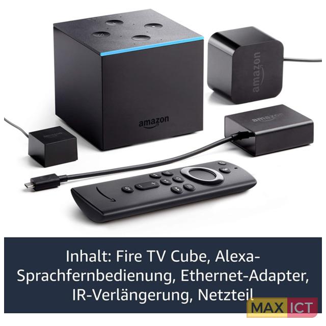 Amazon Amazon Fire TV Cube. Totale opslagcapaciteit: 16 GB. Ondersteunde videoformaten: H.264,H.265, Ondersteund beeldformaat: BMP,GIF,JPEG,PNG, Ondersteund audioformaat: AC3,EAC3,FLAC,LC-AAC,MP3,PCM,Vorbis,WAVE. HD type: