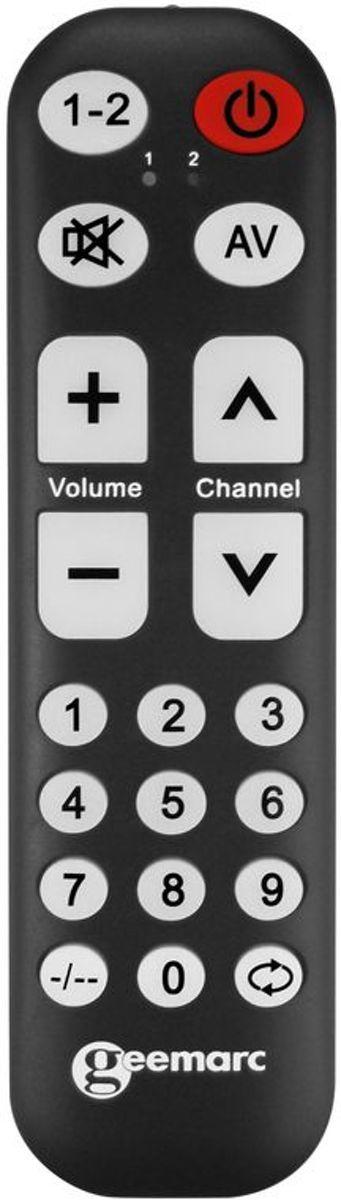 Universele afstandsbediening - Geemarc TV-10