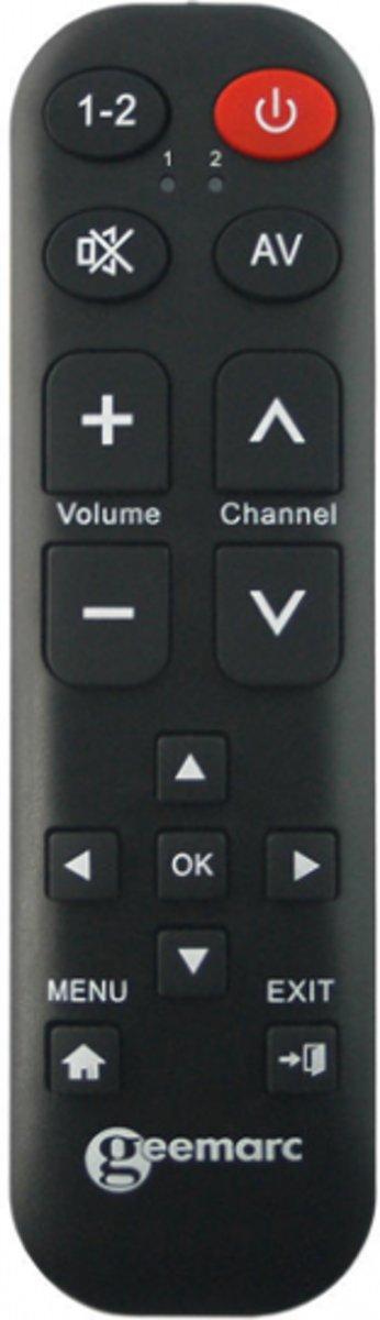 Universele afstandsbediening - Geemarc TV-15