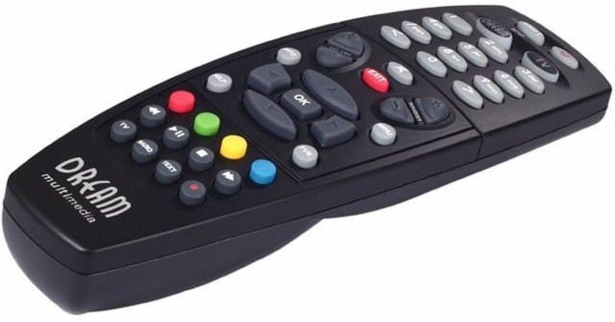 Afstandsbediening voor Dreambox DM7020 / DM7025 / DM600 SE / DM800 HD / DM800 HD SE/ DM8000