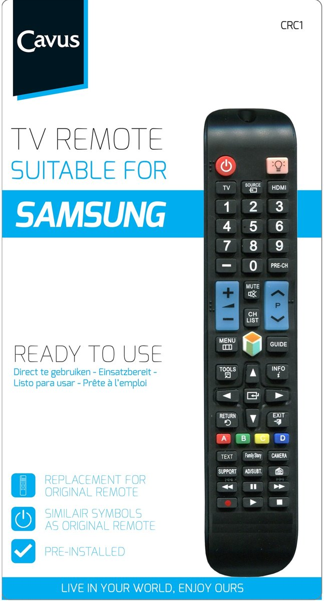 Cavus Universele Afstandsbediening Samsung CRC1