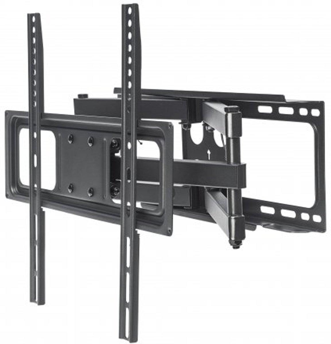 Manhattan TV-Wandhalterung f???r Flachbildschirme und Curved Displays von 32-55 und 40kg Monitor-wandbeugel 81,3 cm (32) - 139,7 cm (55) Kantelbaar en zwenkbaar