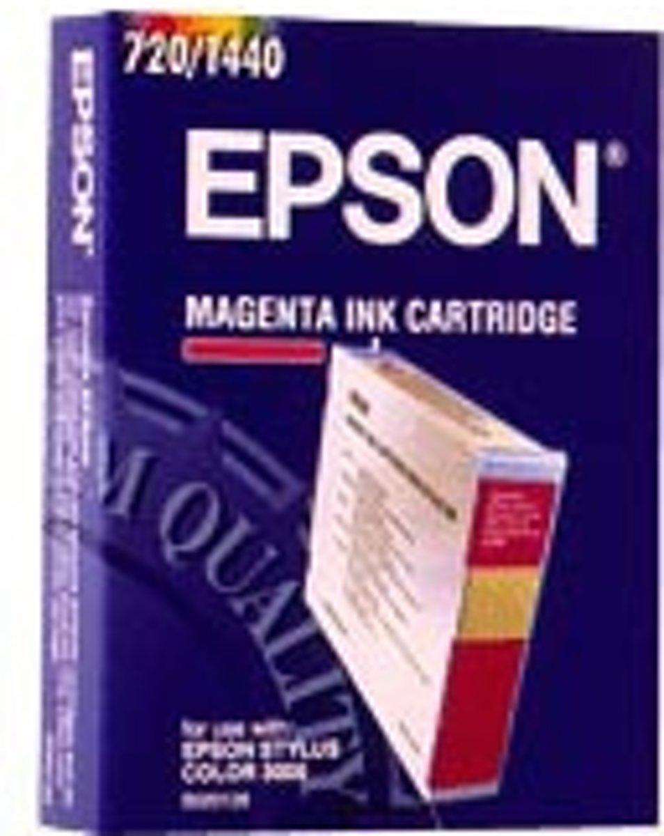 Epson S020126 - Inktcartridge Rood