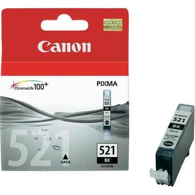Canon CLI-521BK Cartridge Foto zwart