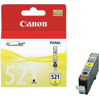 Canon CLI-521Y Cartridge Geel