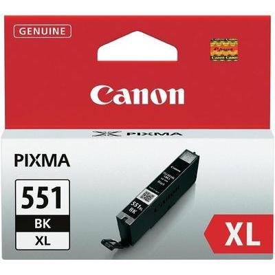 Canon CLI-551BK XL Cartridge Foto zwart