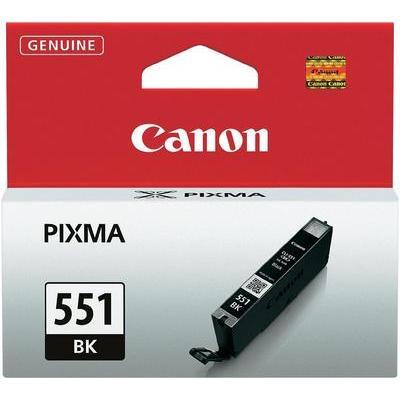Canon CLI-551 BK Cartridge Foto zwart