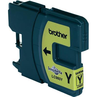 Brother LC-980Y Cartridge Geel