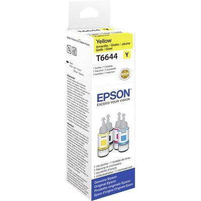 Epson T6644 Navulinkt Geel, geel