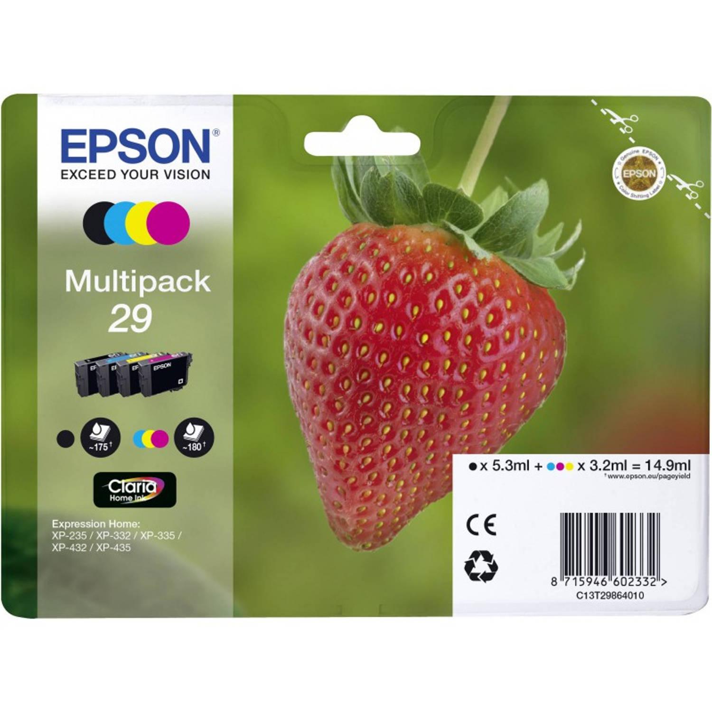 Epson 29 multipack zwart en kleur Cartridge
