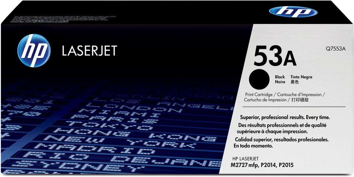 HP 53A - Tonercartridge / Zwart