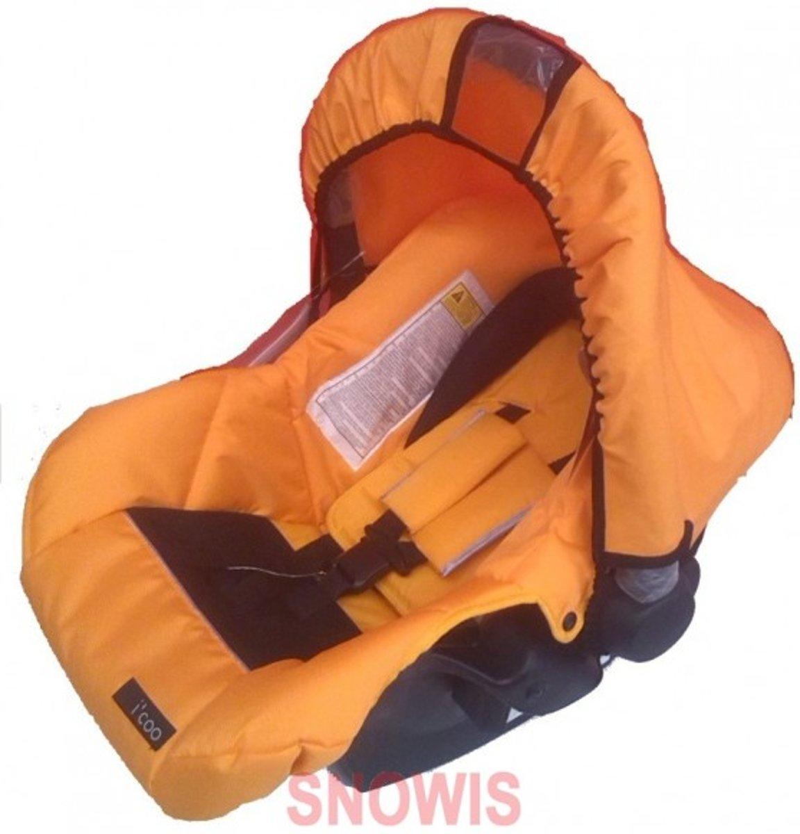 Autostoel Lifesaver 0+ Oranje I'coo