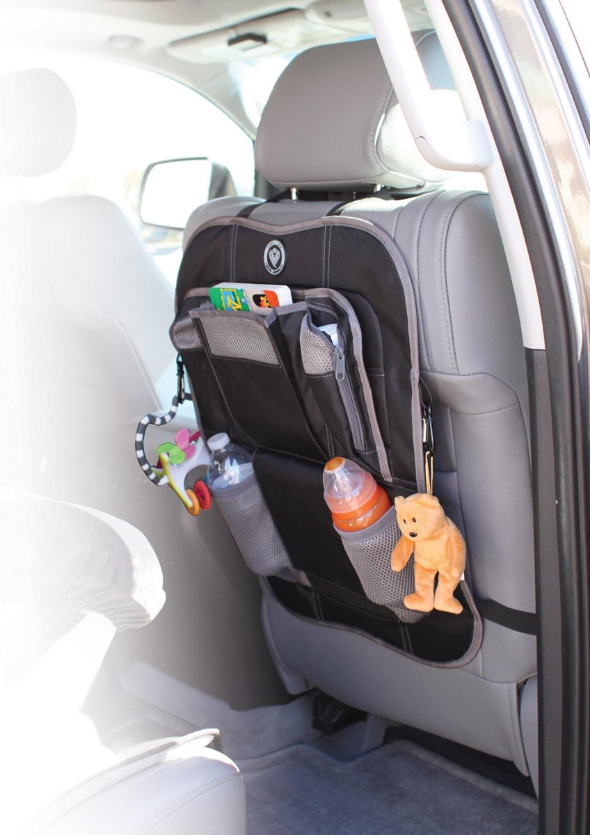 Prince Lionheart Backseat organizer - Zwart/Grijs