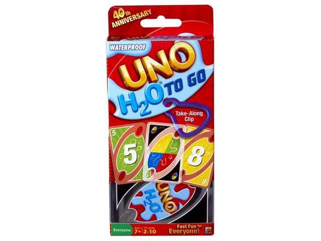 Mattel UNO H2O To Go kaarten