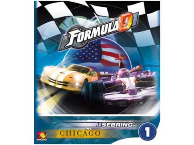 Asmodee Formula D - uitbr.1 - Sebring - Chicago - Gezelschapsspel