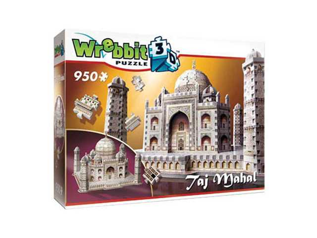 wrebbit Taj Mahal - 3D puzzel - 950 Stukjes