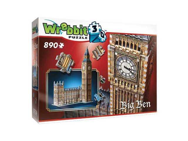 wrebbit Big Ben - 3D puzzel - 890 Stukjes