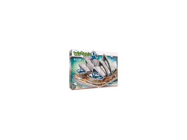 wrebbit Sydney Opera House - 3D puzzel - 925 Stukjes