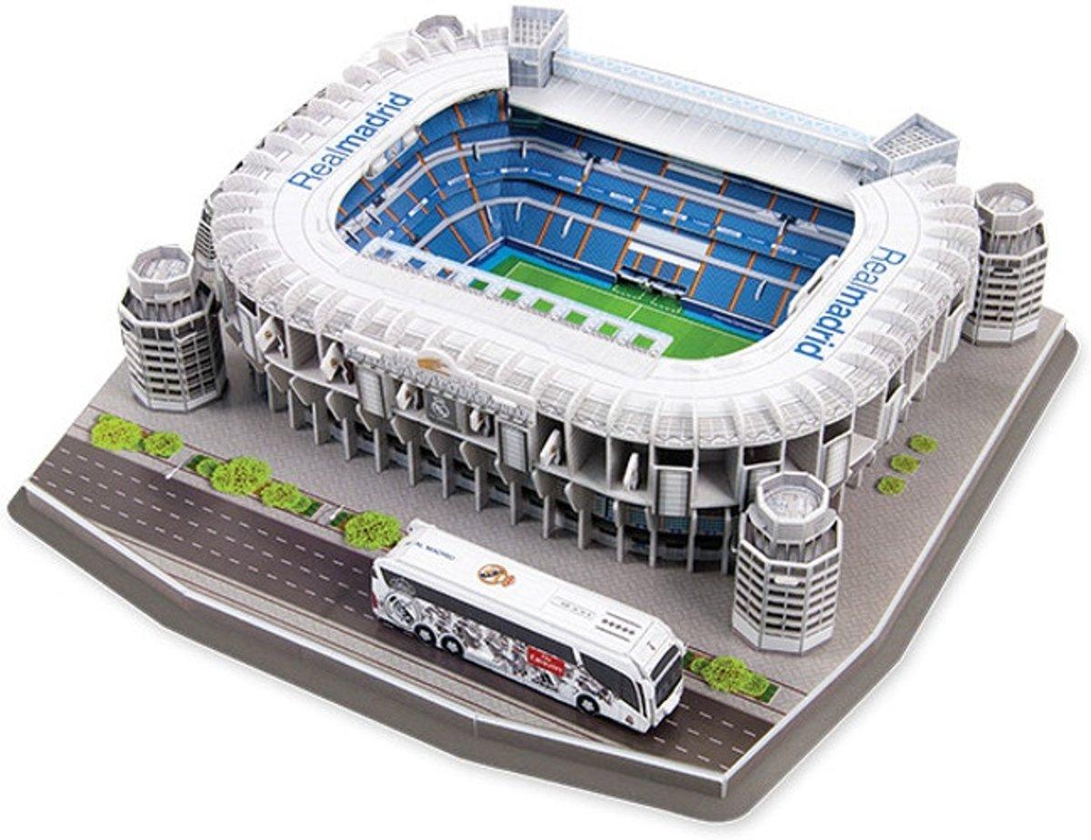 Real Madrid Estadio Santiago Bernab??u 3D puzzel - 160 stukjes