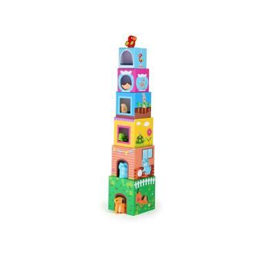 Stapelblokken met figuren