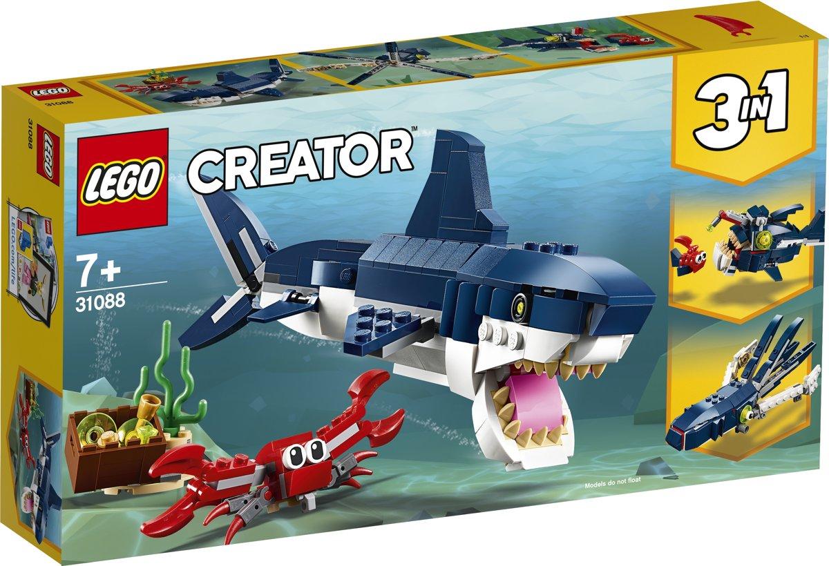 LEGO Creator Diepzeewezens 31088