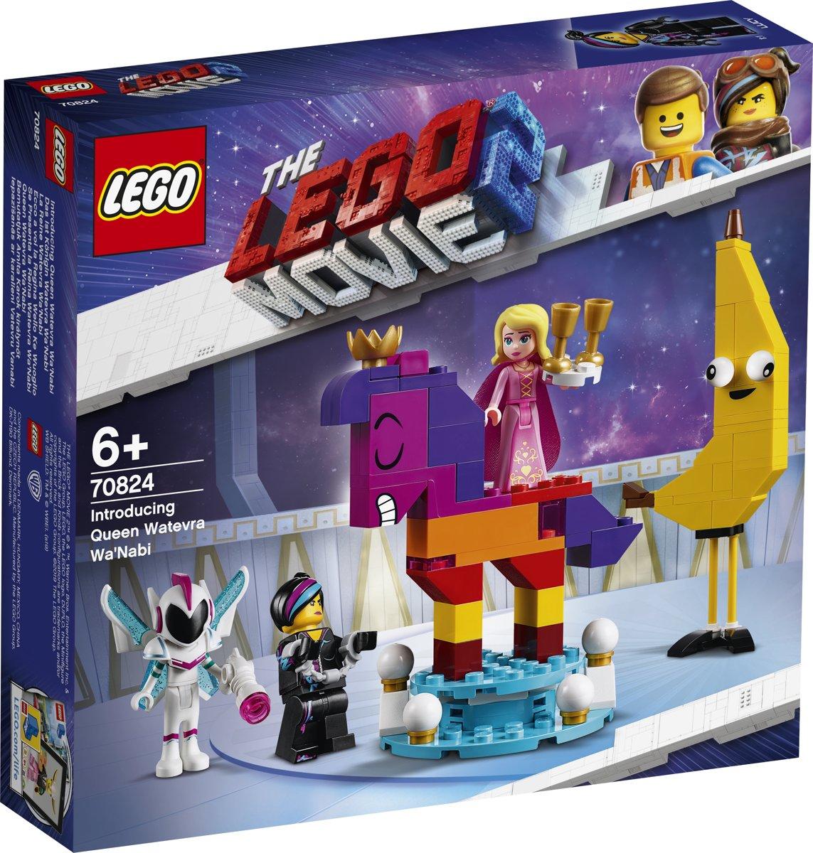LEGO Movie 2 Maak kennis met koningin Wiedanook Watdanook 70824
