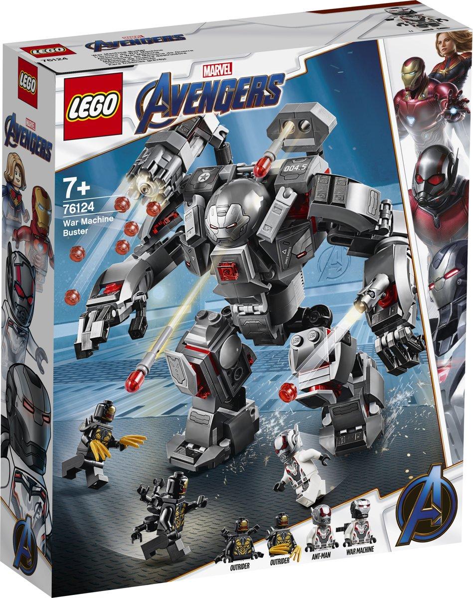 LEGO Marvel Avengers: Endgame War Machine Buster - 76124
